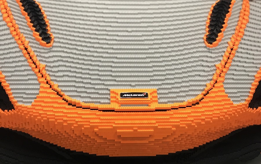 McLaren will show supercar out of Lego bricks