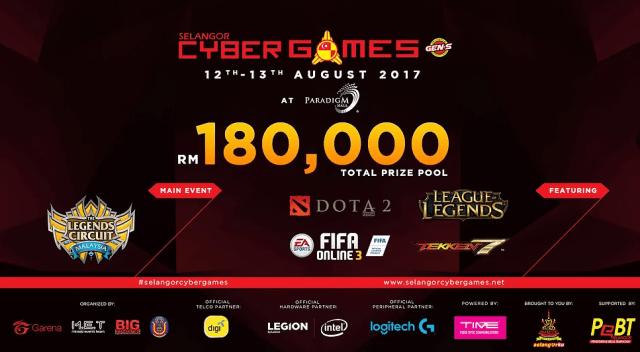 Selangor Cyber Games 2017
