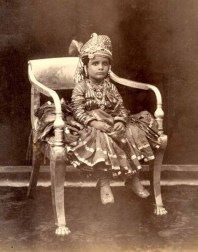 Unidentified young Prince, c. 1890