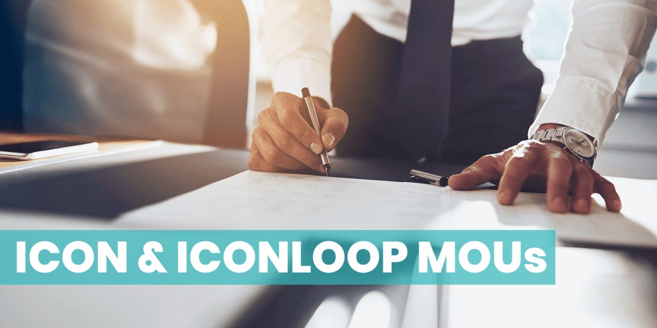An MOU Overview for ICON & ICONLOOP