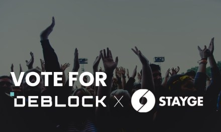 Why Vote for Deblock with STAYGE? Because They're Already Verified.