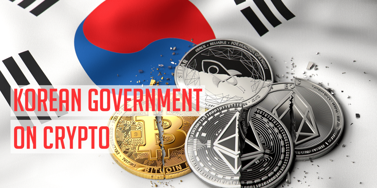 South Korean Government Re-Cooling on Crypto