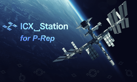 "Meet ICON's ""All-Star"" P-Rep Candidate Team: ICX_Station"