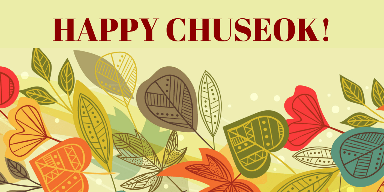Happy Chuseok, From The Iconist