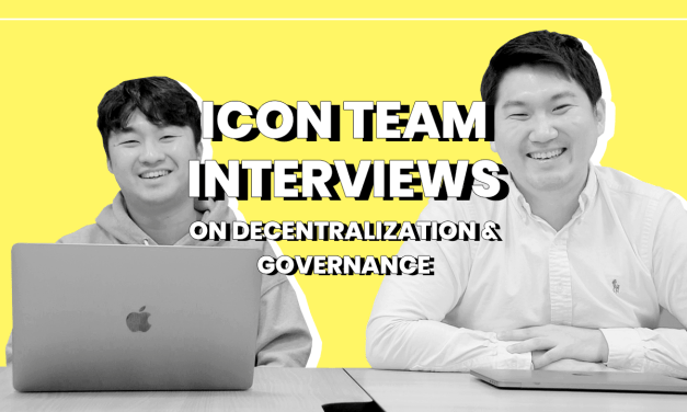 ICON Team Interview: On Post-Decentralization, Governance Issues and What's Next