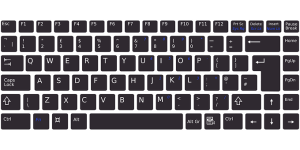 What is a keyboard? Examples of keyboard (layout)