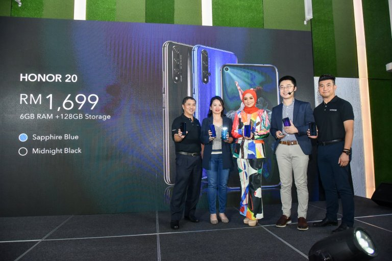 HONOR 20 Announced – Priced at RM 1,699