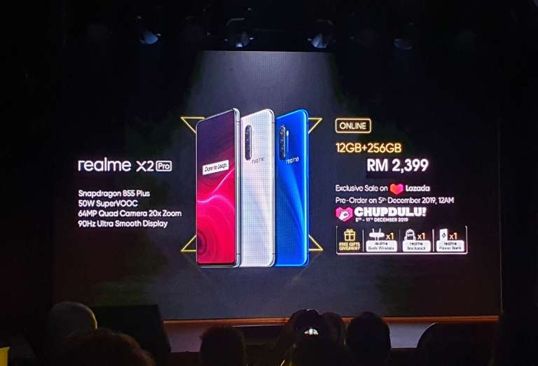 realme X2 Pro is Now Official – Price RM 2,399