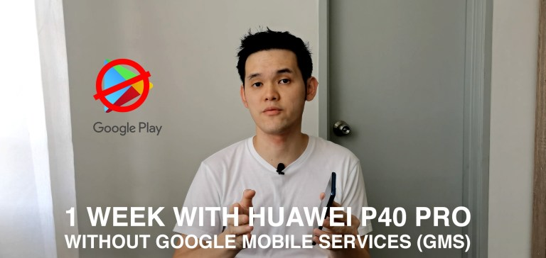 A Week with HUAWEI P40 Pro without Google Mobile Services