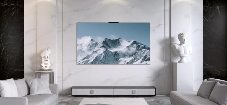 HUAWEI Vision X65 TV – 65″ OLED Smart TV with Pop-up Camera, 14 Speakers & Runs on HarmonyOS