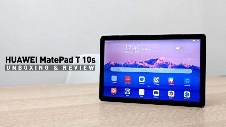 [VIDEO] HUAWEI MatePad T 10s Unboxing & Review