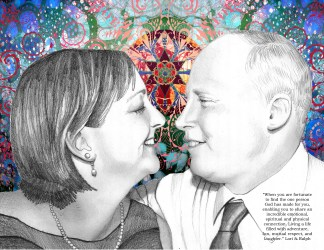 Lori Miller Looney and Ralph Looney
