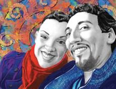 7. Maria Graterol and Peter Ikladious