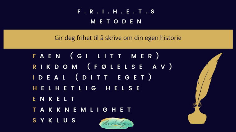 Frihetsmetoden, the ideal you, Silje e vassøy