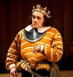 Richard III (Mark Rylance) ©Simon Annand