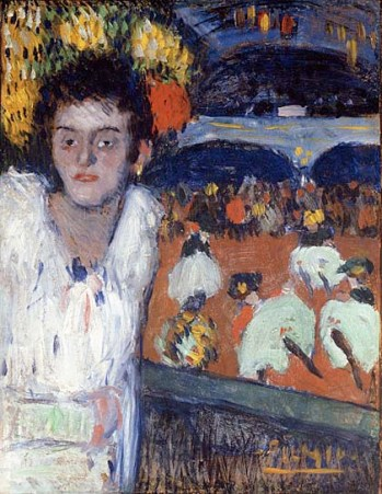 Picasso, At the Moulin Rouge