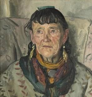 Laura Knight, Granny Smith (detail)
