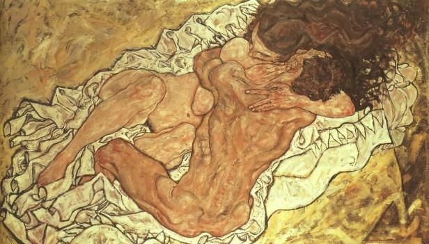 Schiele, The Embrace
