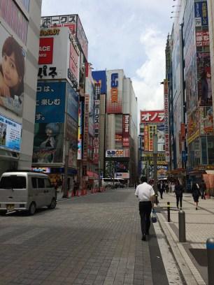 Street scene in Akihabara, Tokyo