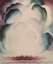 Georgia O'Keeffe, Abstraction - Alexius, 1928, Private Collection, Switzerland © Georgia O'Keeffe