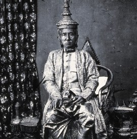 King Mongkut of Siam in state robes, Bangkok © Wellcome Library, London