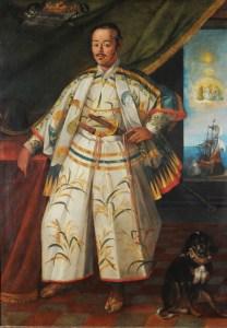Claude Deruet, Portrait of the Japanese ambassador Hasekura Tsunenaga, 1615, Galleria Borghese, Rome