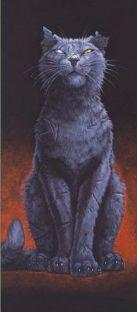 Paul Kidby, Greebo in cat form © Paul Kidby