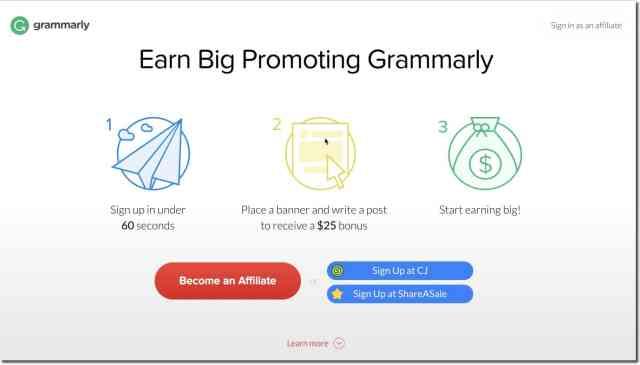 Image result for grammarly affiliate program