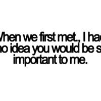 Why I like you