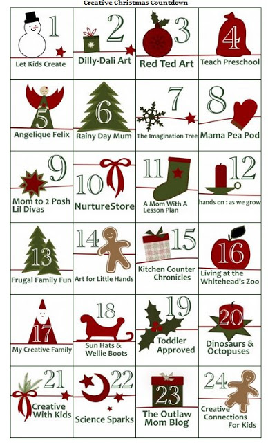 Its Playtime Interactive Advent Activity Calendar The