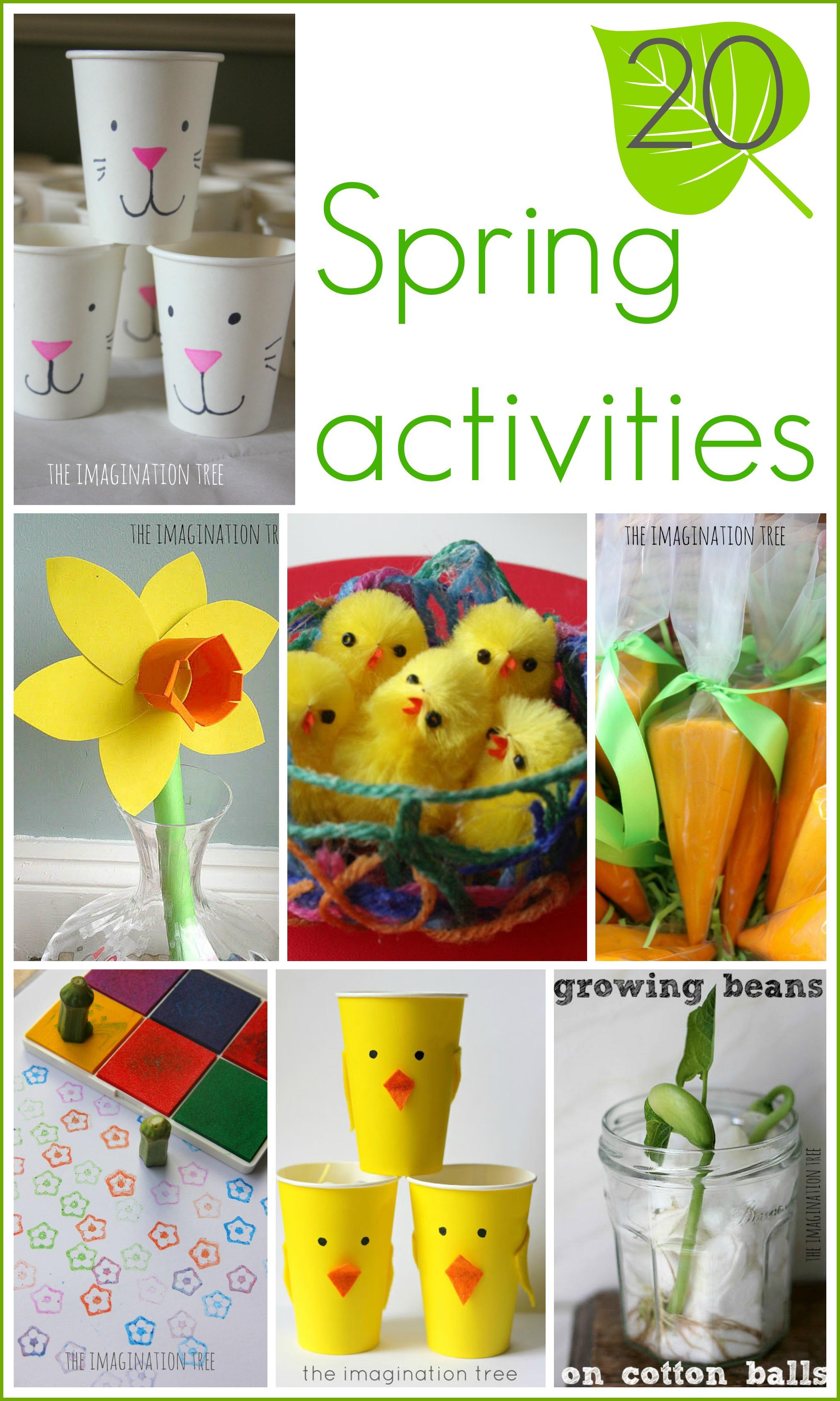 15 Spring Activities For Kids