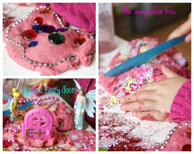 Fairy play dough activity