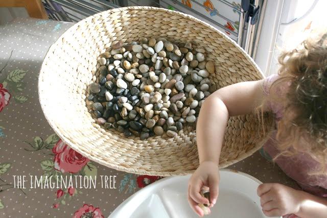 Pebbles discovery box