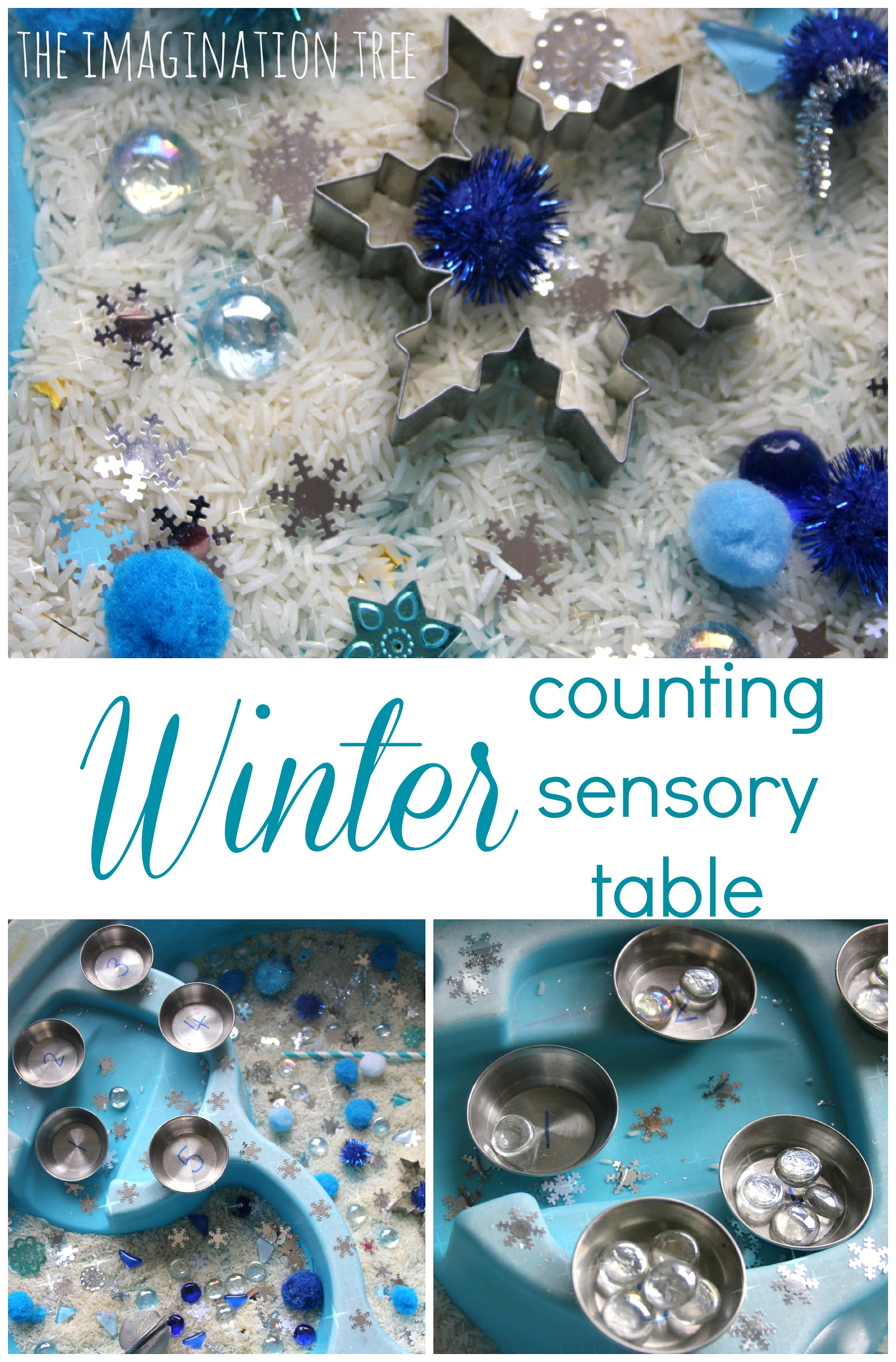 Winter Counting Sensory Table