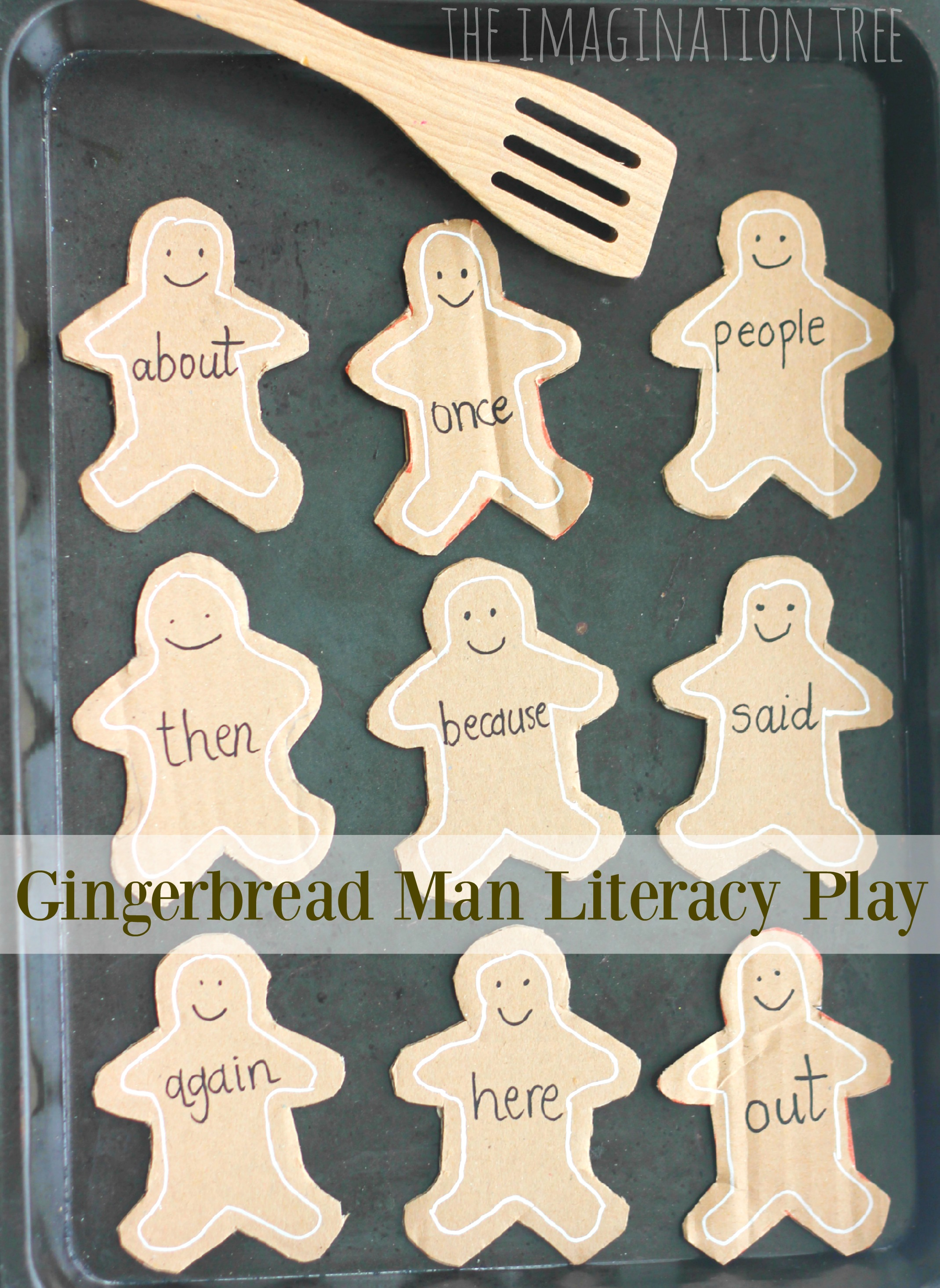 Gingerbread Man Learning Card Games