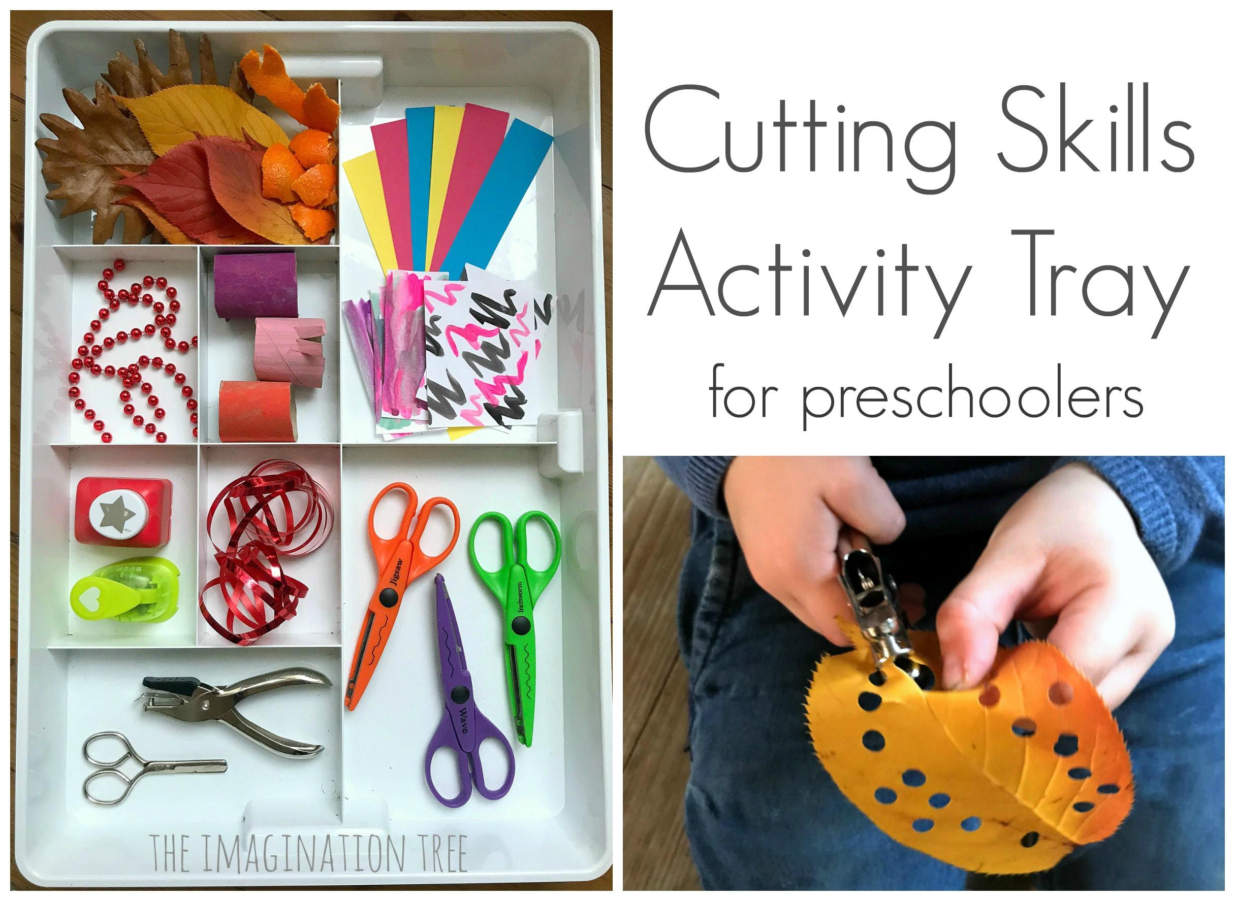 Cutting With Scissors Fine Motor Skills