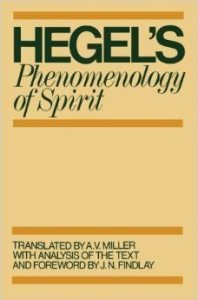 phenomenology of the spirit