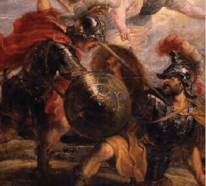 Achilles Slays Hector