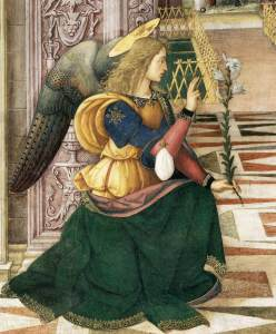 The Annunication (Pinturicchio)