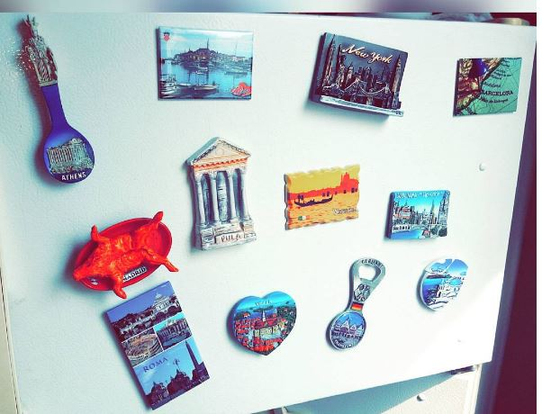 Magnets on Fridge