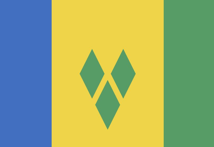 Saint Vincent Flag