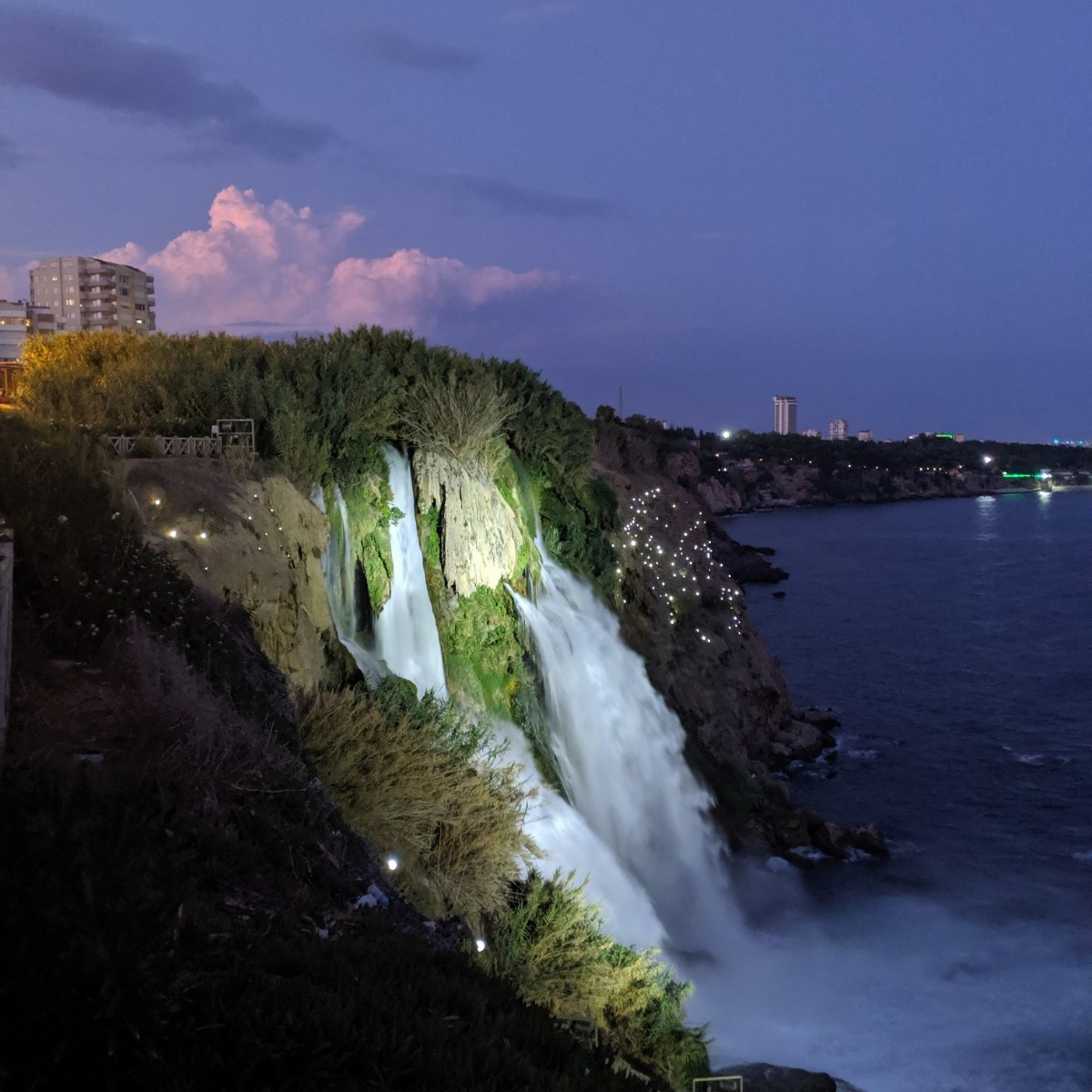 Antalya Turkey Waterfall