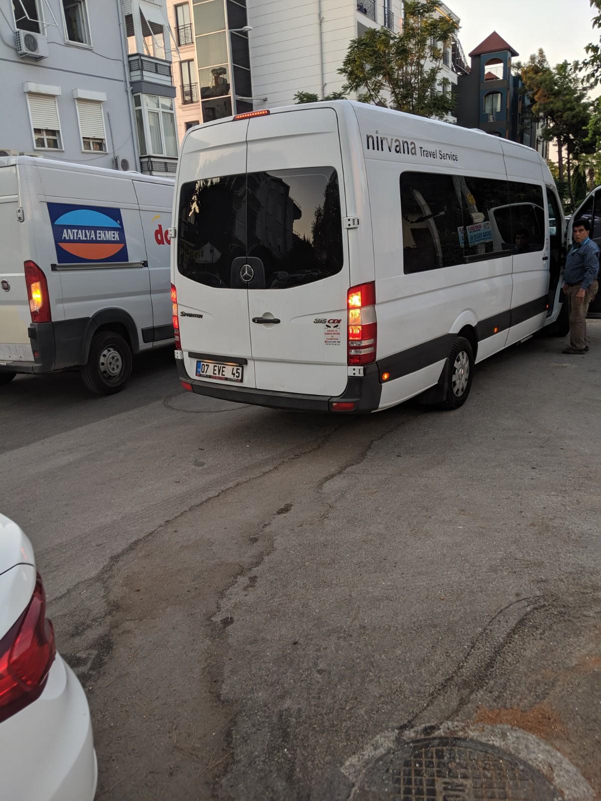 Antalya to Pamukkale Trip