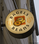 3) B is for Bagels & Beans