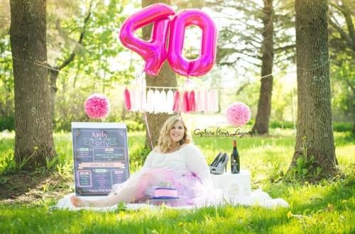 40th birthday cake smash!