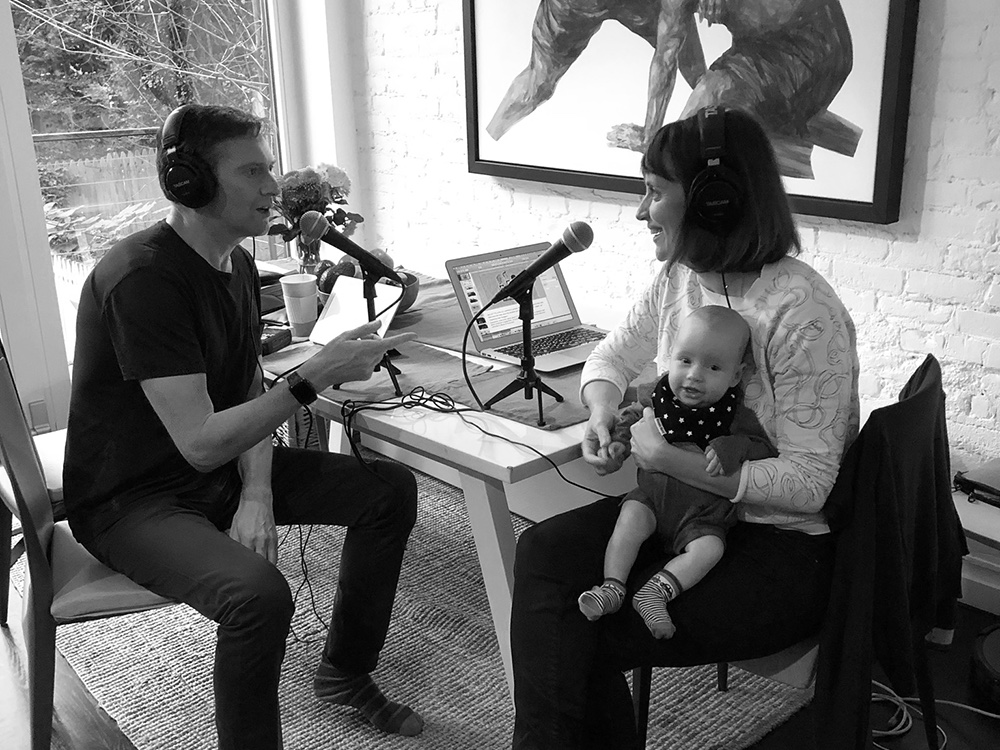 Alessandra Lariu and Mark Fallows interview for podcast The Impossible Network