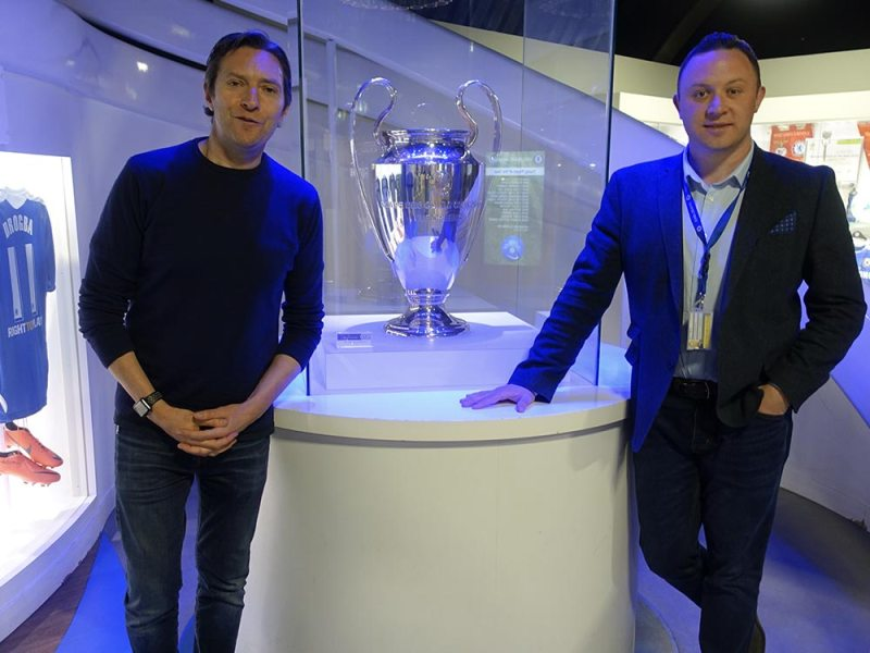 Matt Mead Chelsea FC Foundation