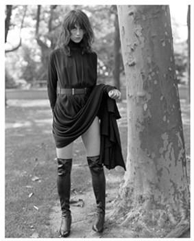 Charlotte Gainsbourg - Harper's Bazaar, 2000