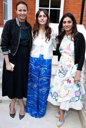 Caroline Rush, Tania Fares and Megha Mittal
