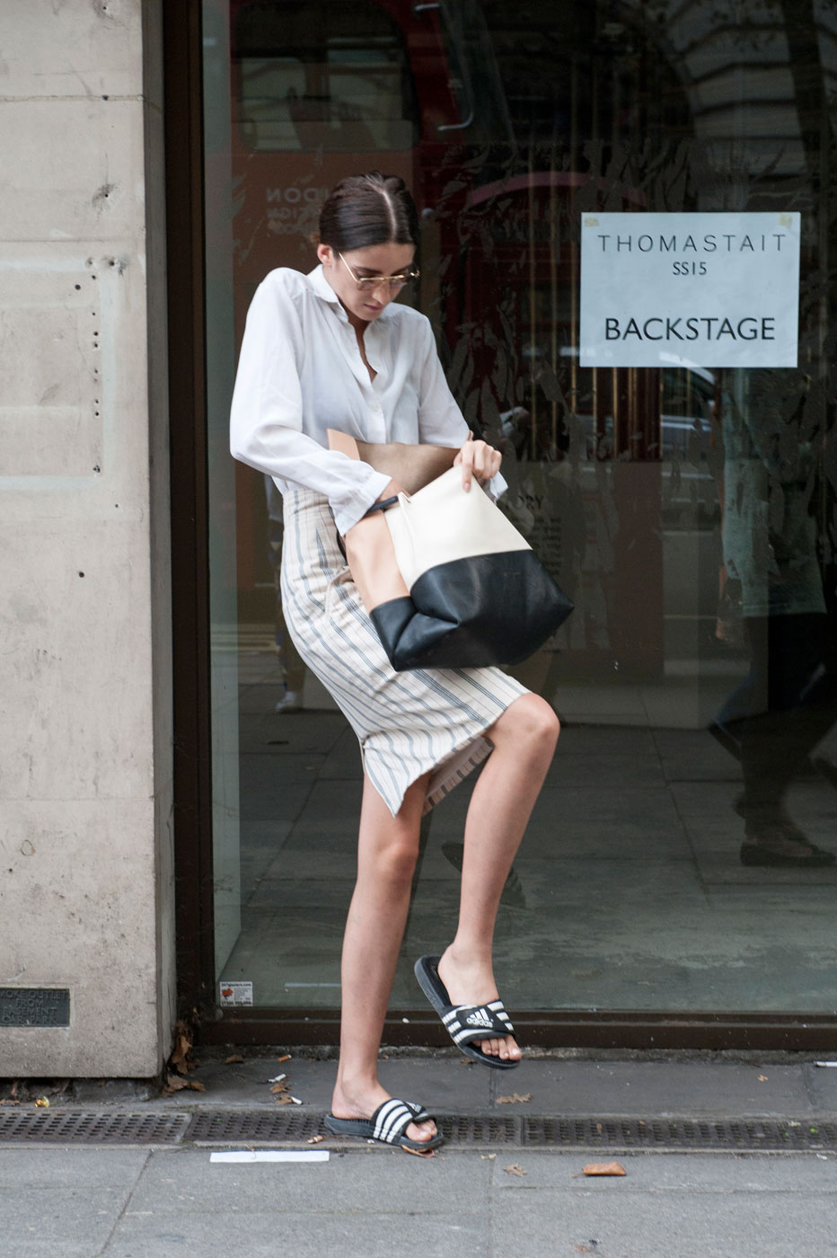 The Best Of London Fashion Week Street Style Day 4